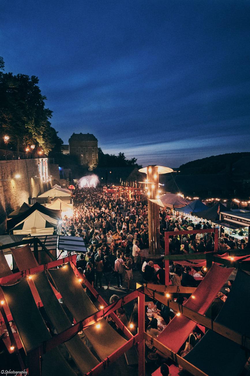 Photographie de reportage d'ambiance en festival Esperanzah